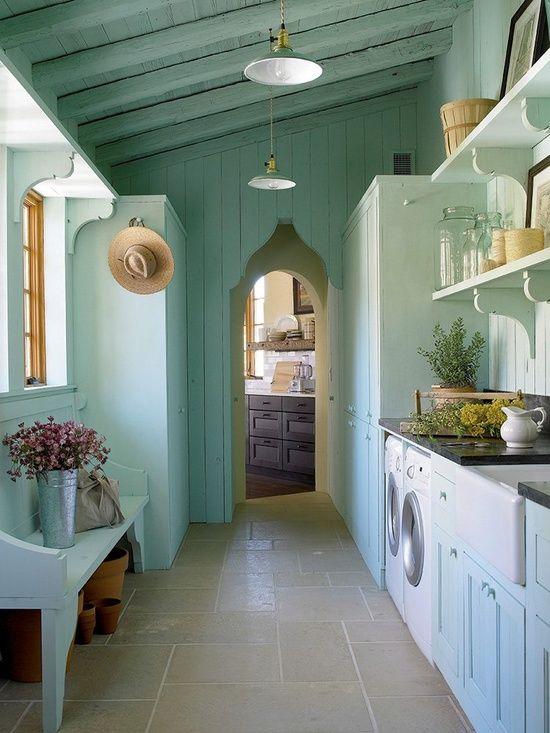חדר כביסה מדהים Mohon-Imber Interiors