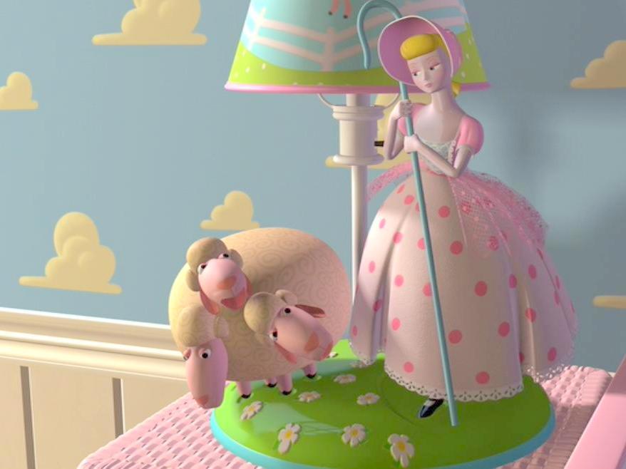 הרועה הקטנה - ציטוט של אנדרסן בסרט של דיסני-פיקסאר