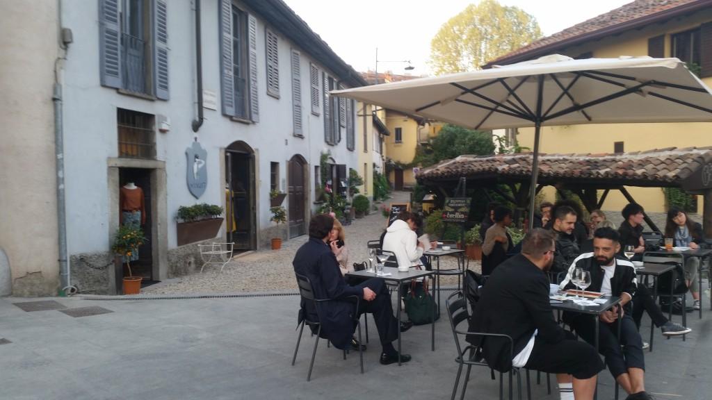I Navigli Di Milano - אזור הנביליי של מילנו